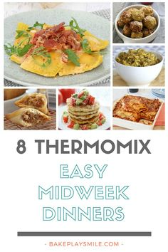 When it comes to quick, easy and delicious meals, these Thermomix family dinners are a few of my all-time favourite recipes! Thermomix Recipes Healthy, Easy Healthy Recipes, Cooking Recipes, Keto Recipes, Savoury Recipes, Oven Recipes, Healthy Meals, Cooking Tips, Healthy Eating