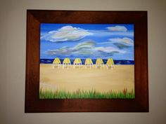 """Cabanas--March 2012--Pompano Beach--""""Painting with a Twist"""""""