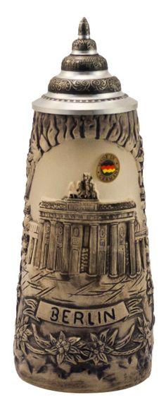 Berlin Brandenburg Gate Beer Stein