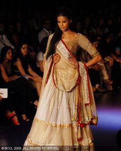 Elegant Ethnic!: This is a Manish Malhotra design. Beautiful for a wedding party!  #shaadibazaar, #indianwedding
