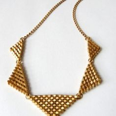 maugold hex nut necklace
