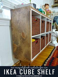35 DIY IKEA Kallax Shelves Hacks You Could Try