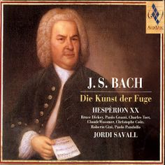 Johann Sebastian Bach The Art of Fugue - Jordi Savall