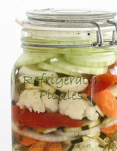 Ted Allen's Refrigerator Pickles (I know someone who made them and they were the best pickles I've ever tasted)