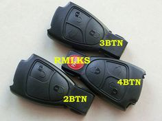 RMLKS  3 Buttons Remote Key Fob Case Cover Fit For Mercedes Benz C E ML S CLK CL #Affiliate
