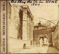 Arco dei Pantani (da lastra stereoscopica) Anno: 1867