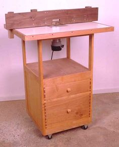 building plans for Floor Standing Router Table