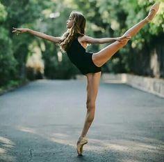 This photo is #balletGOALS