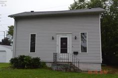 $21,900 3 bedroom 1 bath home located on a unique lot! Interior features include eat-in kitchen, laundry on main level, bath on main level, nice sized living room, 2 bedrooms upstairs, full basement and more! Exterior features include off-street parking, deck, privacy fence and more! Property is being sold AS-IS.