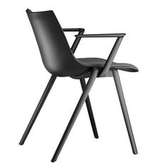 Stackable chair Aula from Wilkhahn Dining Room Chairs, Side Chairs, Cheap Chairs, Stacking Chairs, Upholstered Bench, Inspiration, Furniture, Foot Stools