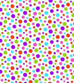 Tutti Fruitti Collection-Peaceful Hearts Dots On White