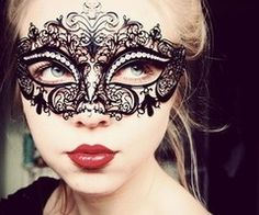 from Carly Tobias. i've always wanted to go to a masquerade party :(