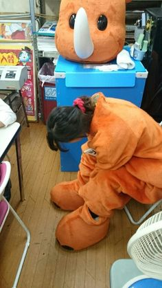 ツノっちの正体(子供には内緒だよ)   ぽかぽかびより Fursuit, Mascot Costumes, Image, Costumes