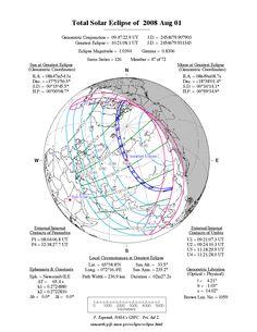 Eclipse 8 - 1 Aug 2008