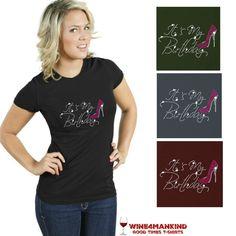 TSR09 Pink Stiletto Heels Birthday Sparkly Bling Rhinestone Shirt,TSR11 Team Bride Sparkly Bling Rhinestone Shirt Wedding $15. 10%OFF: pin10  #birthday #bling #blingshirts #birthdaygift #shirts #rhinestoneshirts http://www.wine4mankind.net