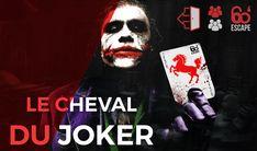 Le Joker, votre MAITRE DE JEU dans cette aventure, s'est fait prendre sa reine et il rit jaune…