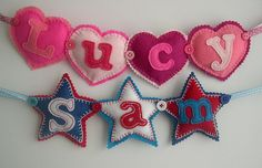 Lovely name banners