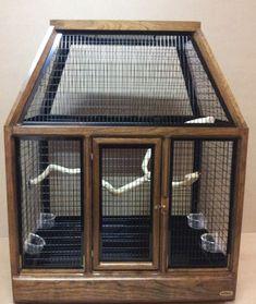 Small Bird Cage, Large Bird Cages, Small Birds, Parakeet Bird, Birdcages, Cockatiel, Parrot, Families, Cherry
