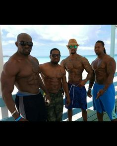 Four sexy men for your looking pleasure....