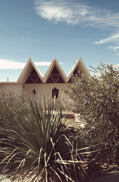 Joshua Tree Retreat Center & Institute for Mentalphysics, designed by Frank Lloyd Wright