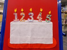 Fun with Friends at Storytime: Birthday Candles!