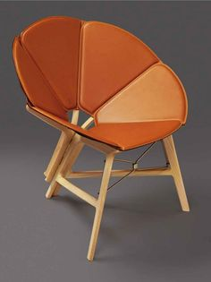 Concertina chair by Yael Mer & Shay Alkalay from Raw-Edges for Louis Vuitton's new collection of Objets Nomades | Flodeau.com #MDW2015