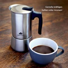 Stove, Coffee Maker, Kitchen Appliances, Products, Mocha, Stainless Steel, Coffee Maker Machine, Diy Kitchen Appliances, Coffee Percolator