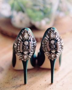83d466167cbe66 40 Wedding Shoes That Are Worthy of an Instagram. Kunstgalerie HochzeitMartha  Stewart WeddingsBraut ...