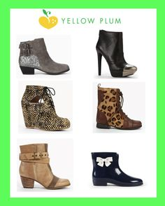 Get 15% off the cutest Fall booties! Click for the discount =)