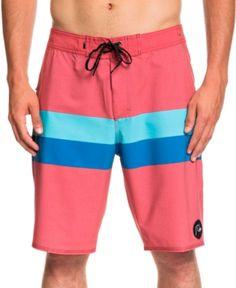 YGE.I.L25 Mens Swim Shorts Pink Flamingo Summer Vacation Beach Board Short Adults Boys