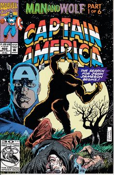 Captain America 402 July 1992 Issue  Marvel Comics  by ViewObscura
