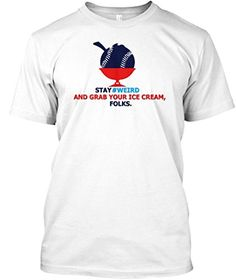 Teespring Unisex Stay Weird Weirdbaseball Baseball Tshirt... https://www.amazon.com/dp/B071V3QSB4/ref=cm_sw_r_pi_dp_x_eBB.ybXFWT2AY