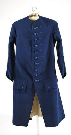 Coat (image 1) | probably British | 1765 | silk | Metropolitan Museum of Art | Accession #: 1991.46