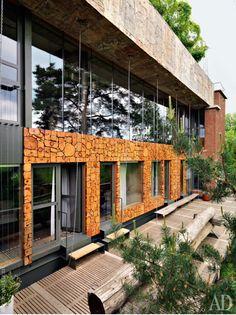 Дом 2 архитектора Пошвыкина в Подмосковье ( фото из журналa AD) http://www.admagazine.ru/inter/at-home/13297_dom-arkhitektorov-poshvykinykh-pod-moskvoy.php