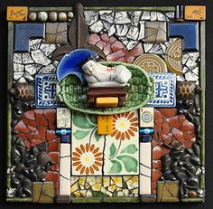 Carolyn Machado, artista / mosaico