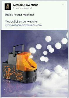 Bubble Fogger Machine!