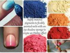 Use Younique moodstruck minerals pigment powder for eye shadow OR on your nails to give them a gorgeous ombré look!