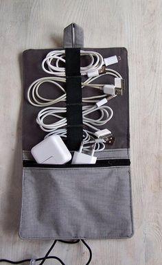 Etuis & Täschchen - Gr. M Kabel Organizer - ein Designerstück von Sew-Organized bei DaWanda