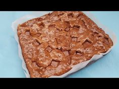 YouTube Brownies, No Cook Desserts, Apple Pie, Sweets, Cooking, Youtube, Food, Sweet Pastries, Meal