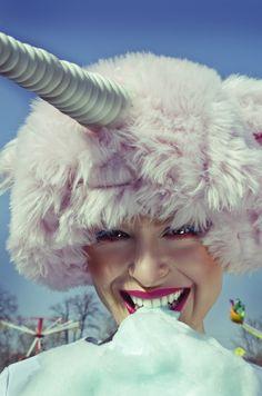 Unicorn hit project on pilgrimage. Photo by Koki9 Model Kateřina Lorencová