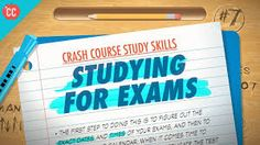 """Hi, I'm Thomas Frank, and this is Crash Course Study Skills. Over the course of the past nine episodes, we've covered the topics that you'd expect to fall under the umbrella of this show's """"study s… Brain Gym Exercises, Revision Tips, Mindfulness Exercises, Mindfulness Meditation, Speed Reading, School Study Tips, Exam Study, Study Skills, Learning Spanish"""