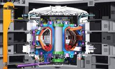 Der Fusionreaktor Iter soll zeigen, dass Fusion durch magnetischen Einschluss machbar ist.- Kohlekraftwerke werden ausgedient haben, wenn die Kohle knapp wird - von den Auswirkungen auf die Umwelt und das Klima ganz abgesehen. Eine Rückkehr zur Atomspaltung ist - spätestens nach dem Unglück in japanischen Atomkraftwerk Fukushima 2011 - auch nicht wünschenswert. Und ob es mit erneuerbaren Energien allein gelingen wird, Strom in ausreichendem Maß zu erzeugen, ist fraglich.