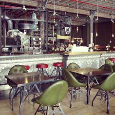 Industrial Coffee shop #interior