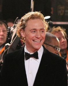 Tom Hiddleston attends the Orange British Academy Film Awards 2012 at the Royal Opera House on February 12, 2012 in London
