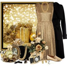 """""""Gold"""" by countrycousin on Polyvore"""