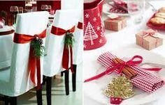 enfeites de natal vermelho e dourado - Pesquisa Google