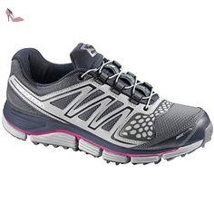 SALOMON - Chaussures Trail Femmes - XR CROSSMAX 2 CS W Gris/Rose 9.5 US - Chaussures salomon (*Partner-Link)