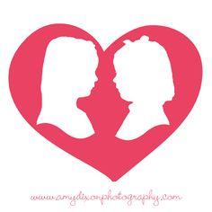 Valentine Silhouettes