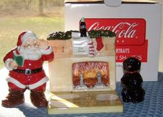 Coca Cola Holiday Portraits Salt & Pepper Shakers Santa Fireplace Dog 3 Pc Set by Coca-Cola, http://www.amazon.com/dp/B006I84FO0/ref=cm_sw_r_pi_dp_U9jGpb0ZG3BP0
