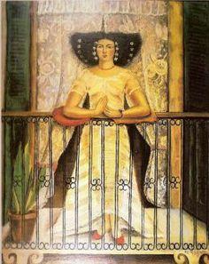 Anita Malfatti - Mulher do Pará (no balcão), 1927.